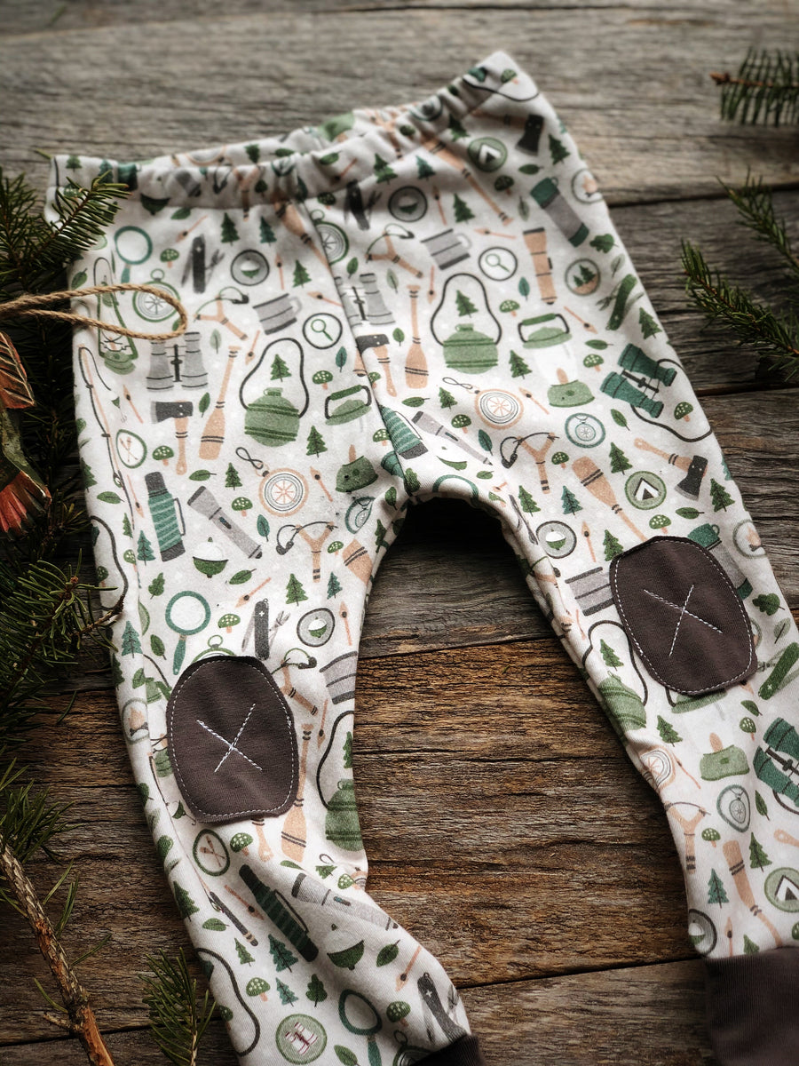 Camping in Earth |  Adventure Leggings