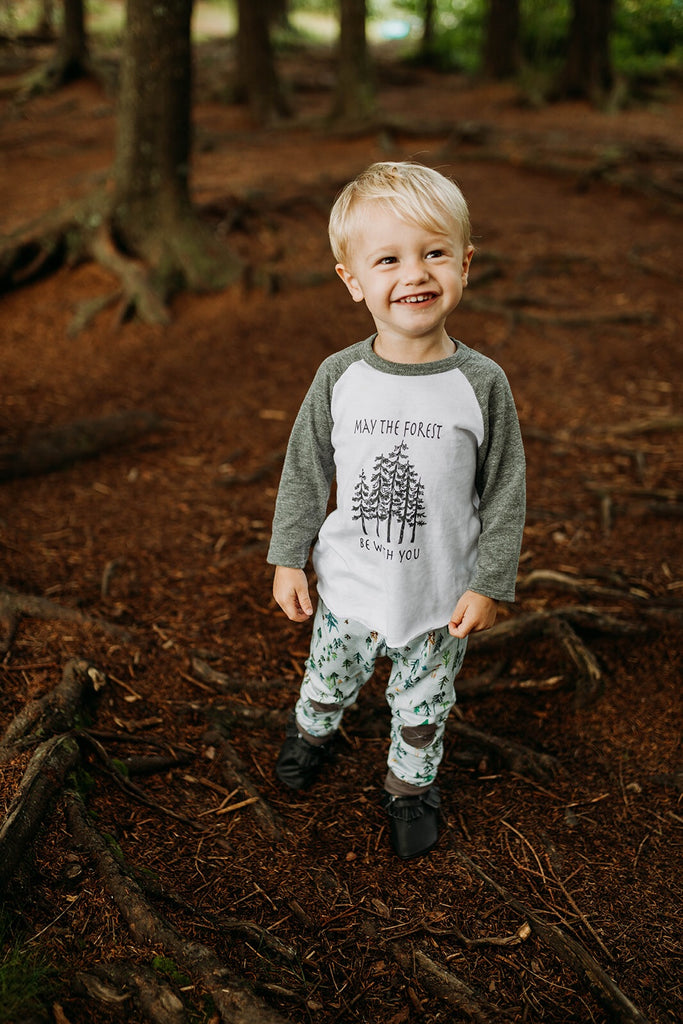 May the Forest  | Grey Tee