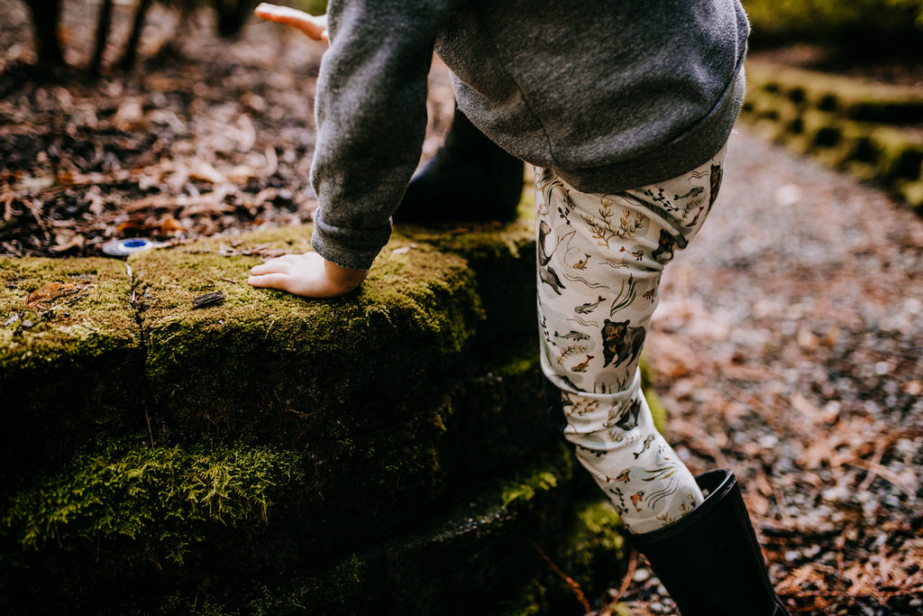 Fishing Bears |  Adventure Leggings