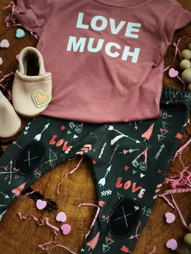 Love Much  | Mauve Tee