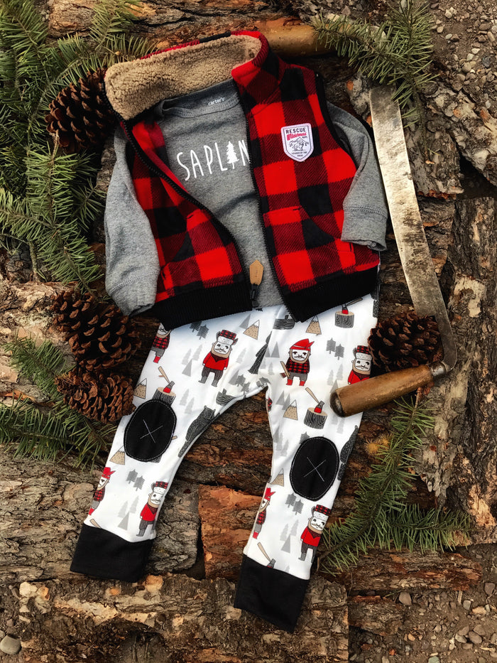 Lumberjack |  Adventure Leggings