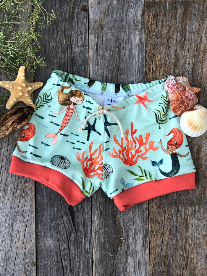 Mermaid Cove  | Adventure Shorts