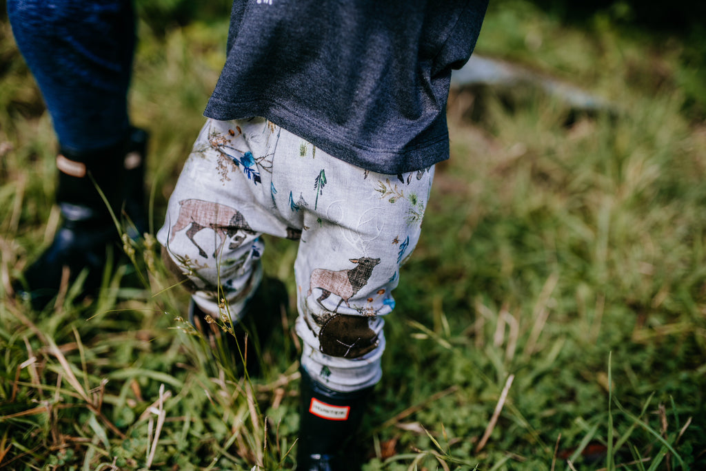 Dueling Stags  |  Adventure Leggings