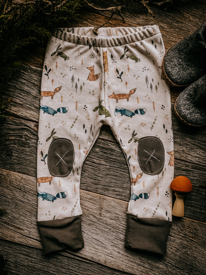 Woodland Scandi   |  Adventure Leggings