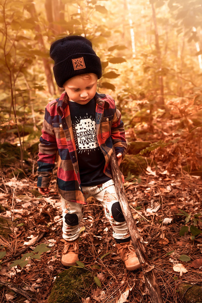 Channel the Flannel  |  Toddler  Tee