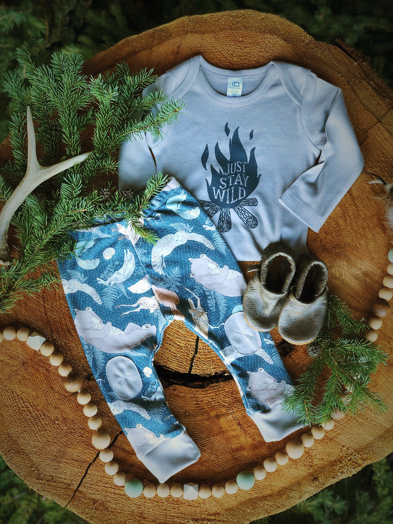 Woodland Dreaming  |  Adventure Leggings