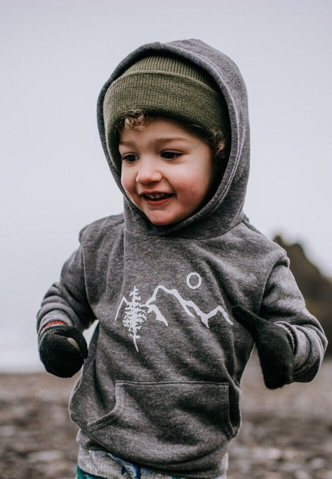 Mountainscape | Grey Toddler Hoody