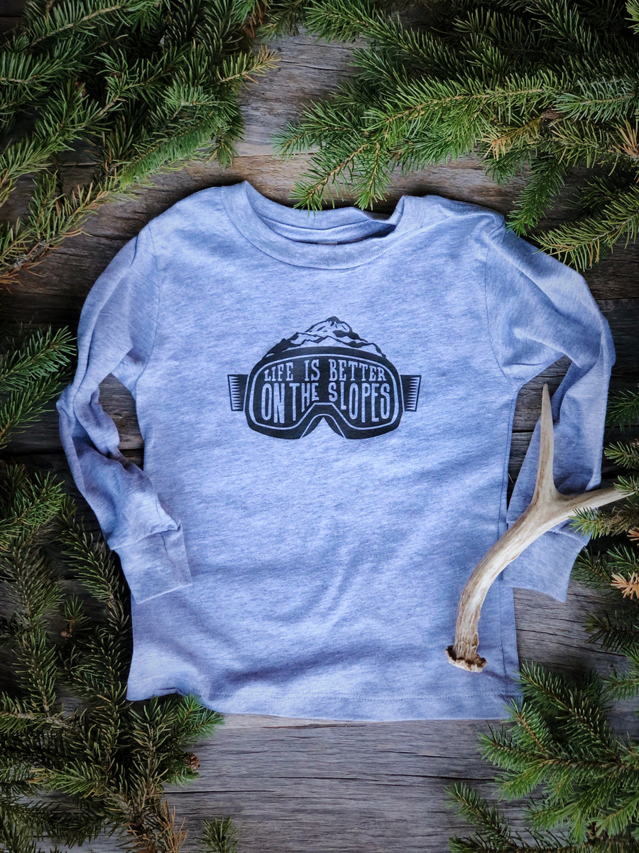 Better on the Slopes | Toddler Tee