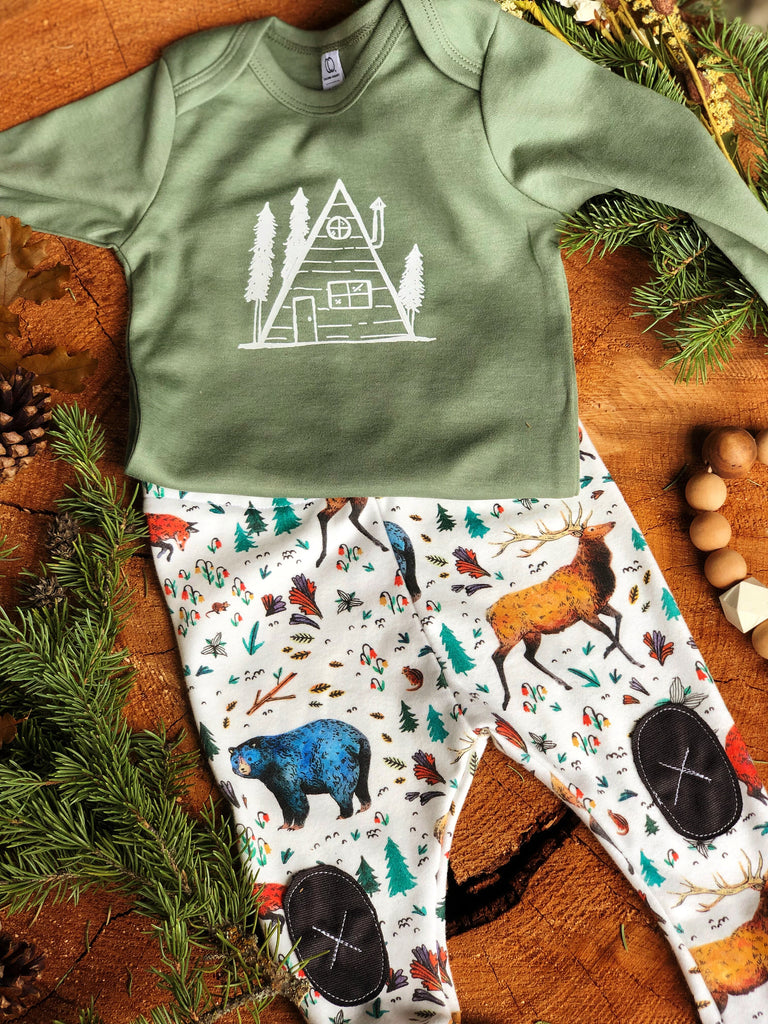 Forest Friends |  Adventure Leggings