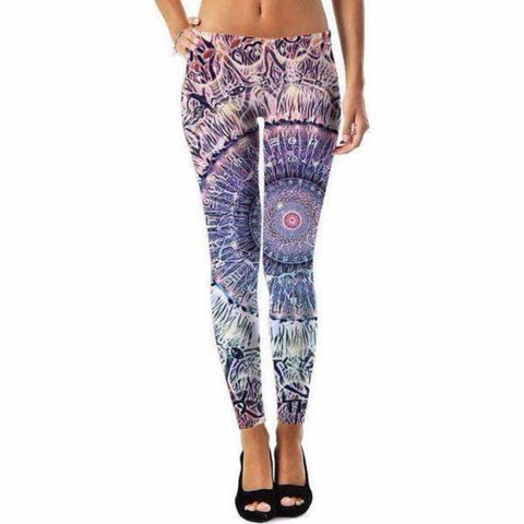 Waiting Bliss - Mandala Leggings
