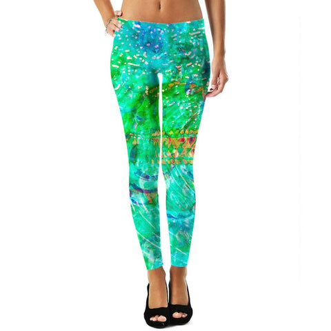 Green Love Potion 7 Leggings #5
