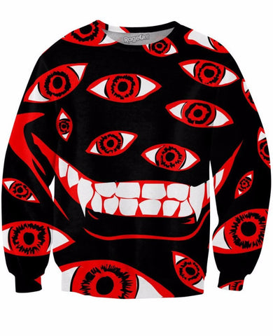 Control Art Restriction 666 Crewneck Sweatshirt