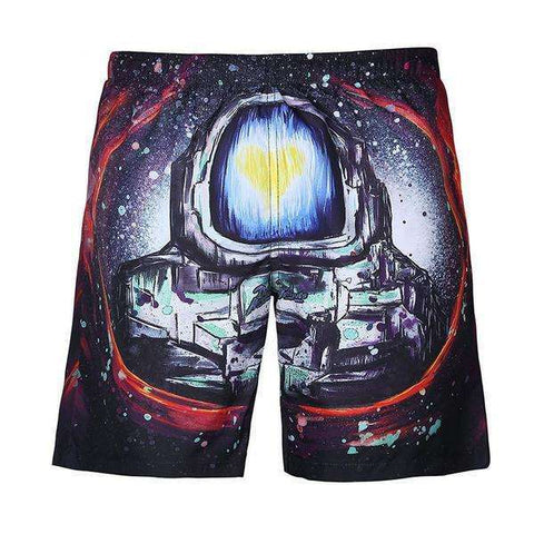Drawn Enlightenment Rave/Board Shorts