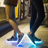 LED Shoes - Skull X Bones!