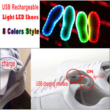 LED Shoes - Silver or Gold!