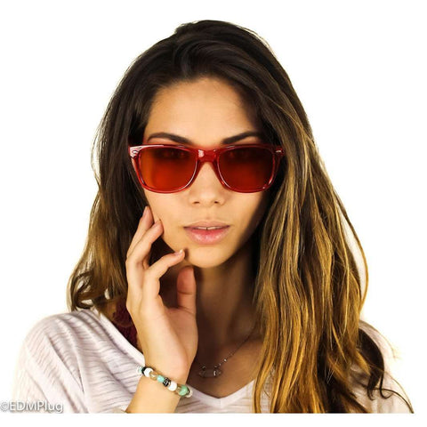 Ultra Amber Diffraction Glasses