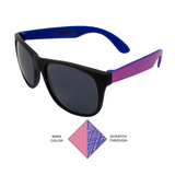 Scratchy's Sunglasses - Blue/Pink