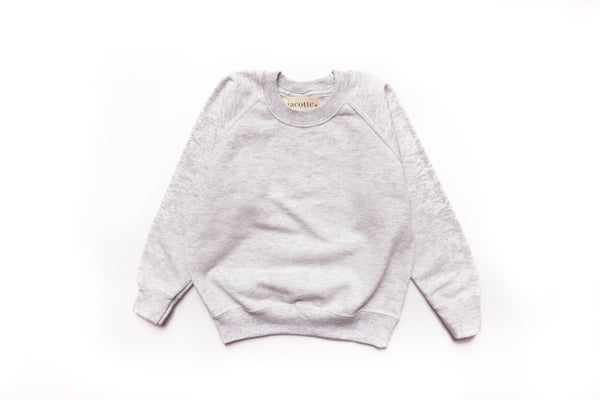 Sweat-shirts HOMME gris perle