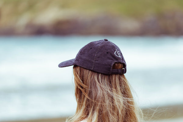 Niven Cap | Unconstructed Corduroy 6 Panel | Charcoal