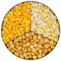 Order a Three Flavor Tin of Gourmet Popcorn Online (Available in 30+ Flavors)