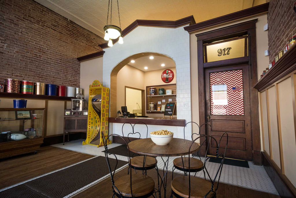 Visit The Original Popped Popcorn Company in Downtown Fort Smith, Arkansas