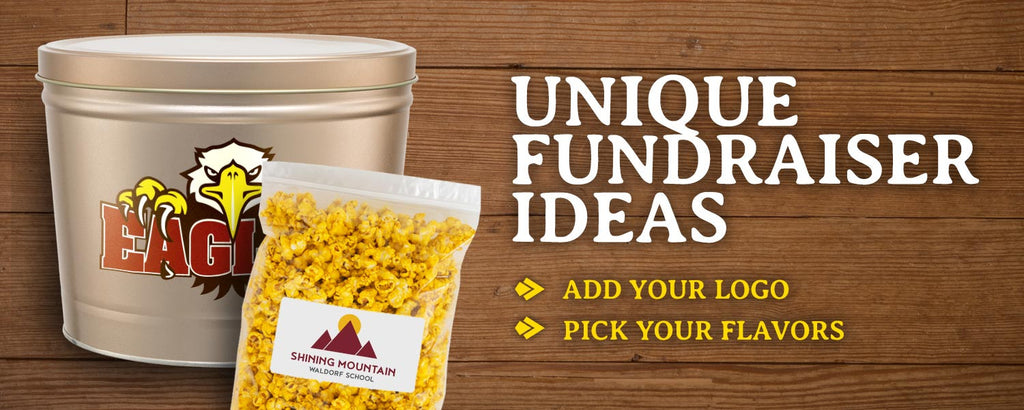 Sell our gourmet, flavored popcorn as an easy, customized and profitable fundraiser for your school, charity, club, scout troop, or non-profit organization.