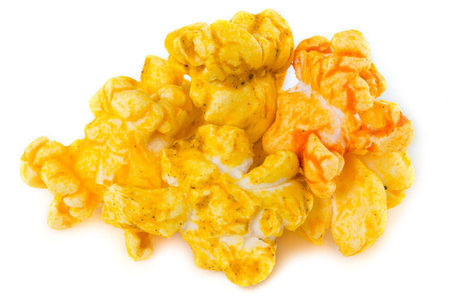 Buy fresh, spicy combination flavored popcorn online (available in tins or bags), and have your gourmet popcorn order shipped anywhere in the Continental US.