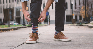 5 Dress Sock Outfits for Men