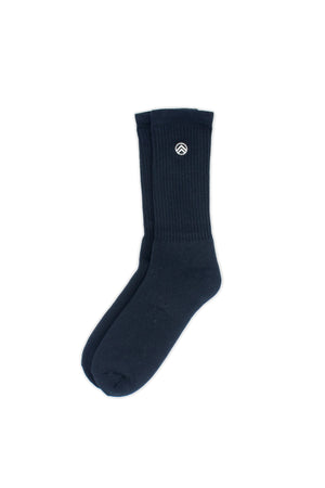 Classic Black Athletic Sock