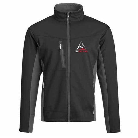 SF Deltas Men's Bonded Soft Shell Jacket - Embroidered