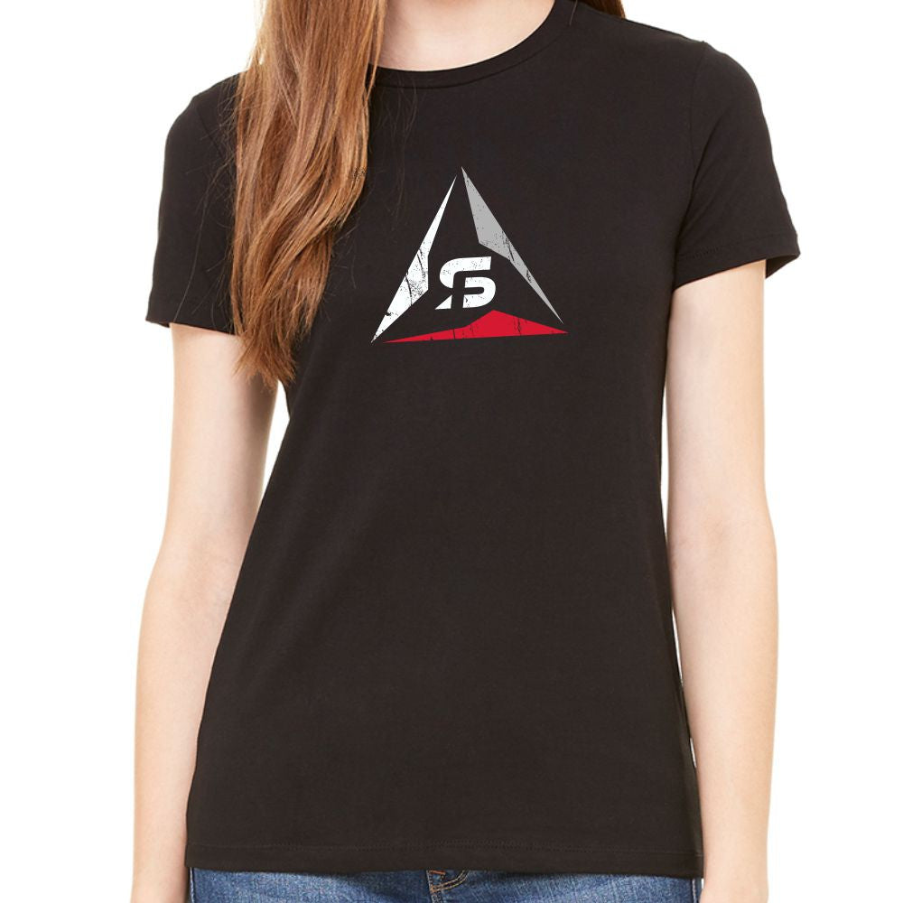 "SF Deltas Women's ""Favorite"" Distressed Logo Tee"