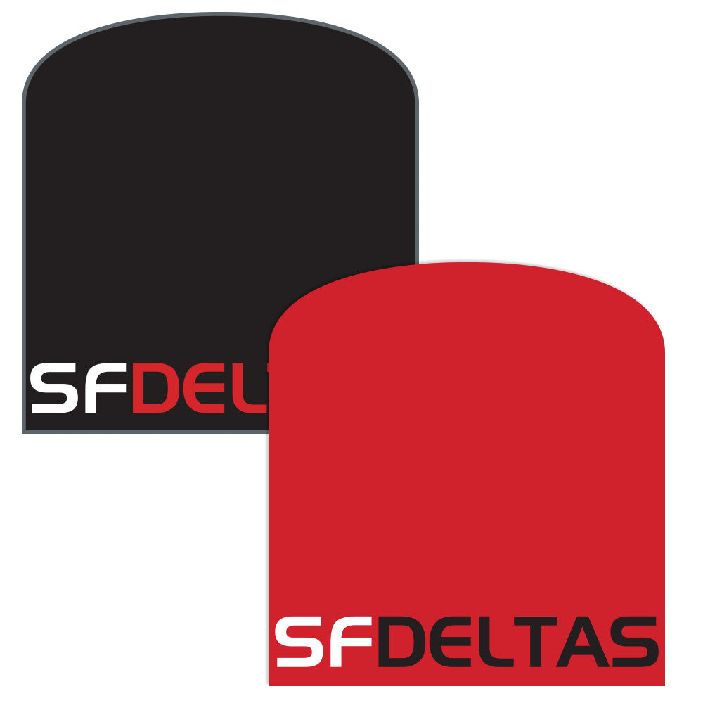 SF Deltas Reversible Knit Beanie