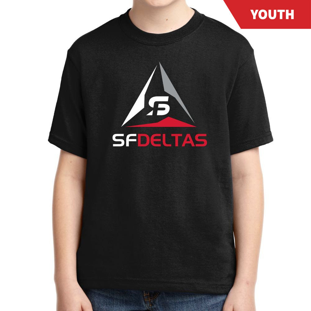 SF Deltas Primary Logo Youth Tee