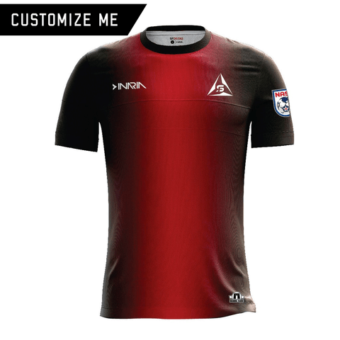 Customizable SF Deltas 2017 Authentic Inaugural Season INARIA Adult Home Jersey - Short Sleeve