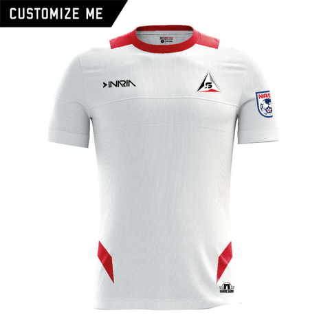 Customizable SF Deltas 2017 Authentic Inaugural Season INARIA Adult White Away Jersey - Short Sleeve