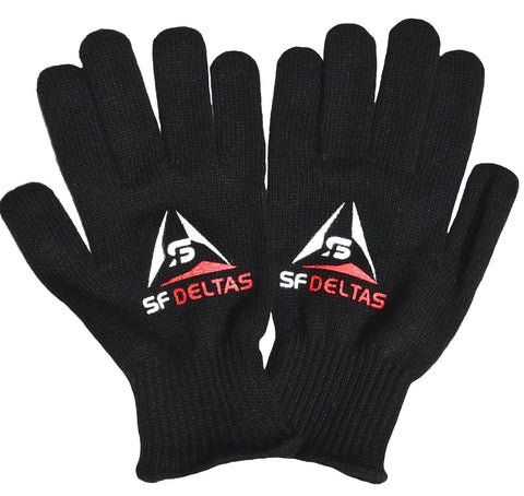 San Francisco Deltas Primary Logo Gloves