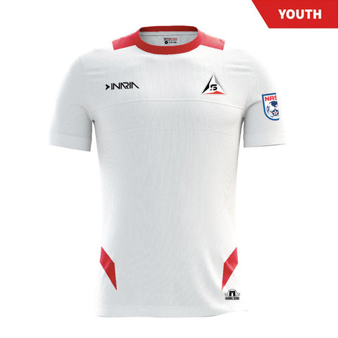 "SF Deltas 2017 Authentic Inaugural Season INARIA Youth Away Jersey - Short Sleeve <font color=""red""><i>PLUS: Two (2) Free Tickets to a SF Deltas Home Match with Purchase</i></font>"