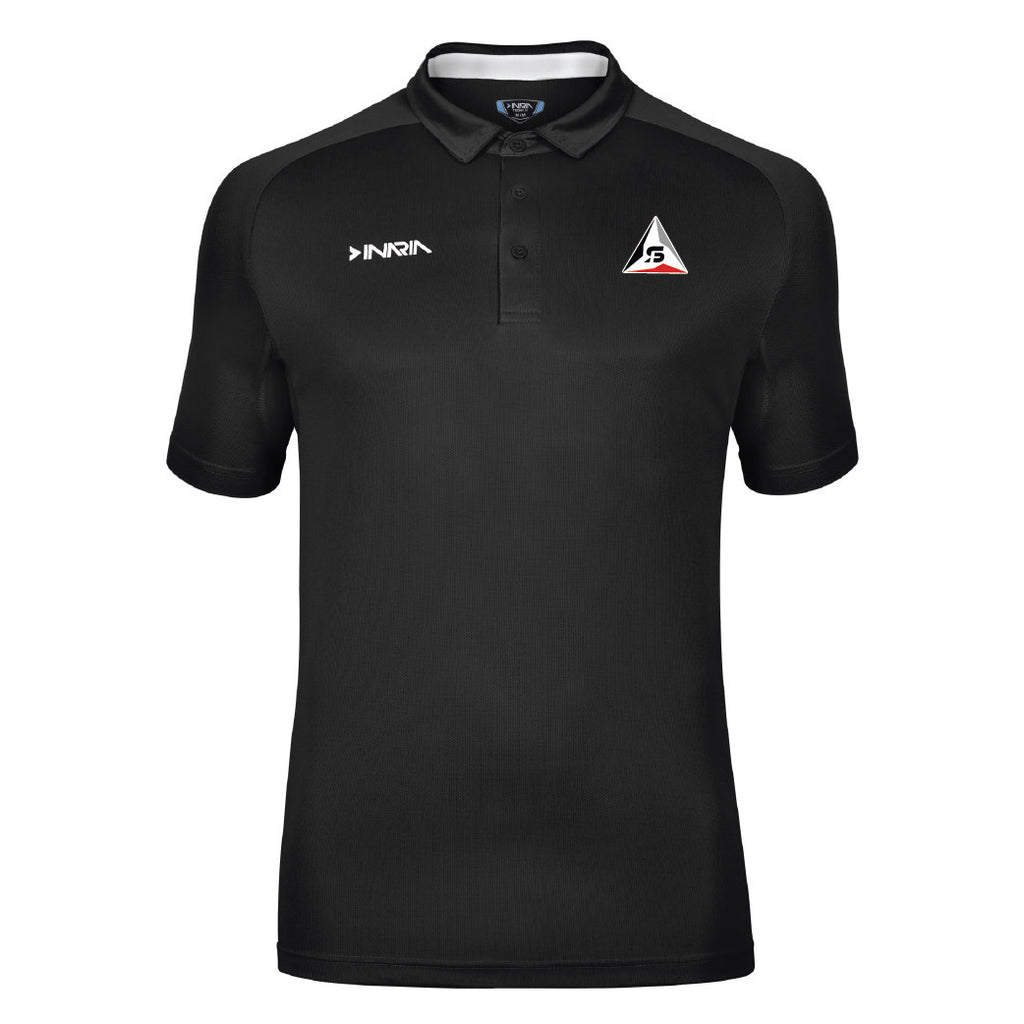 SF Deltas INARIA Barella Coach's Polo Shirt - Black/White