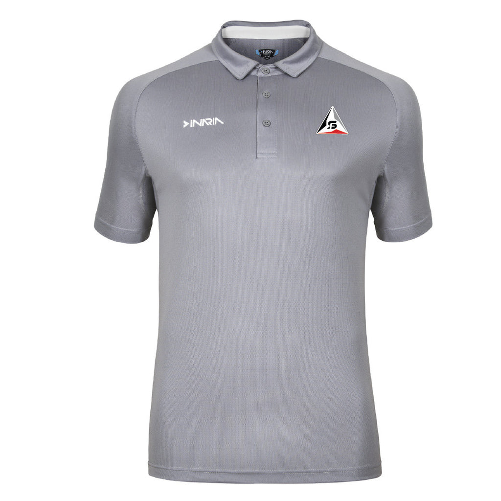 SF Deltas INARIA Barella Coach's Polo Shirt - Grey