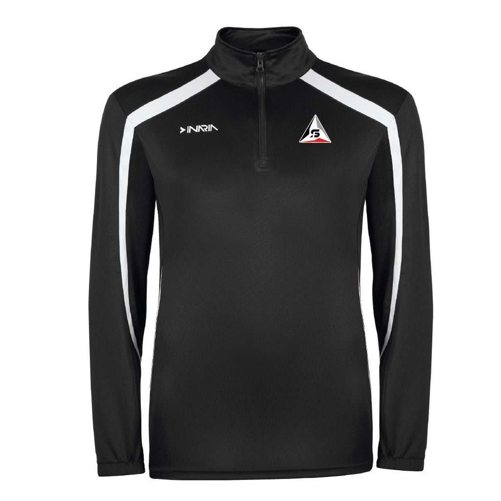 SF Deltas INARIA 1/4 Zip Training Pullover - Black/Red