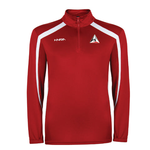 SF Deltas INARIA 1/4 Zip Training Pullover - Red/White