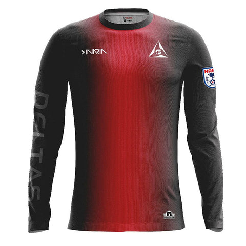 SF Deltas 2017 Authentic Inaugural Season Adult Home Jersey - Long Sleeve