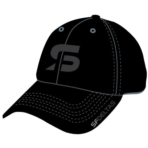 SF Deltas Stretch-to-Fit Hat - Tone-on-Tone
