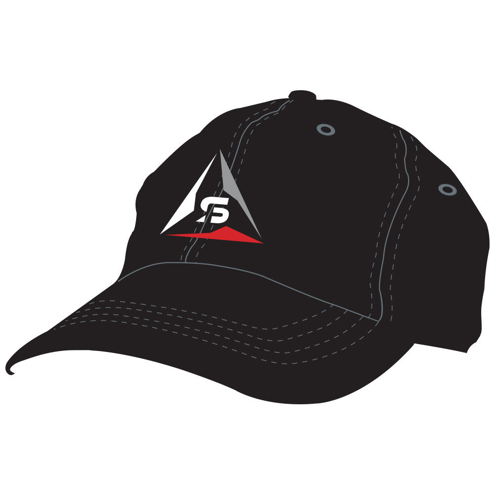 SF Deltas Unstructured Logo Hat - Black