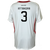 "Customizable SF Deltas 2017 Authentic Inaugural Season INARIA Adult White Away Jersey - Short Sleeve  <font color=""red""><i>PLUS: Two (2) Free Tickets to a SF Deltas Home Match with Purchase</i></font>"