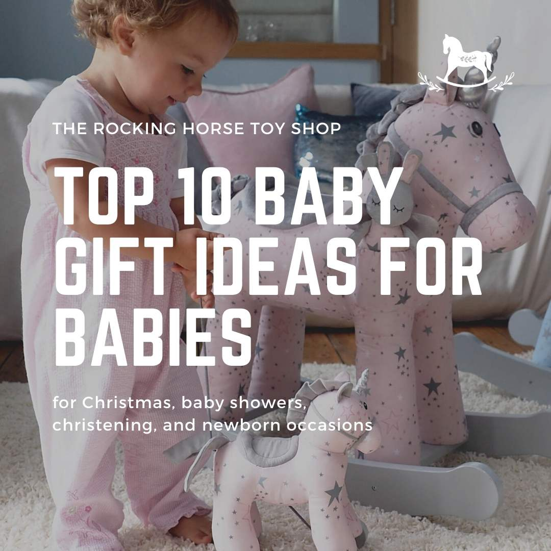 Top 10 baby gift ideas for Christmas, baby showers, christening, and newborn occasions