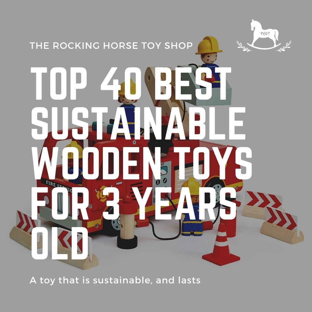 Top 40 Best Sustainable Wooden Toys for 3 years old