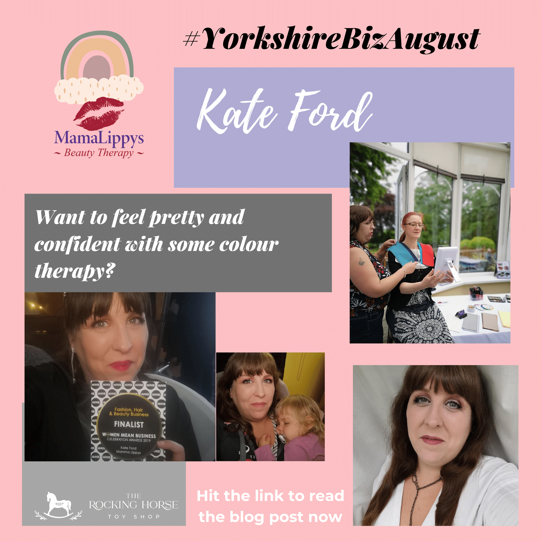 Yorkshire Biz August 18 - Kate Ford - MamaLippys Beauty Therapy