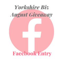 Facebook Entry - August Giveaway
