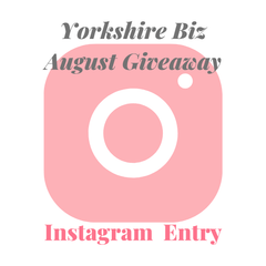 Instagram Entry of August Giveaway